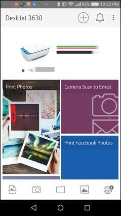 نرم افزار HP Smart App