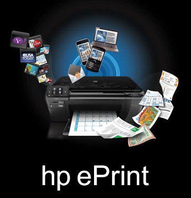 راه اندازی و استفاده از hp ePrint