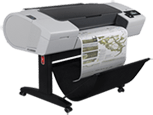 HP DesignJet T790 24-in Printer