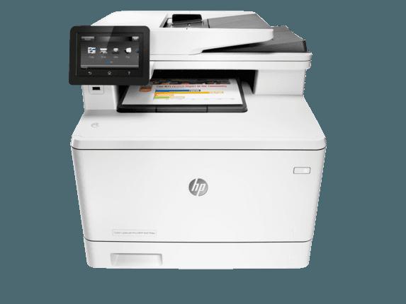 پرینتر چندکاره لیزری رنگی HP LaserJet M477fdw